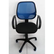 AMF Бит Color АМФ-8 сиденье А-1 спинка Сетка синяя