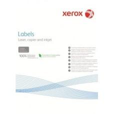 Наклейка Xerox Mono Laser 1UP (прямі кути) 210x297mm 100арк.