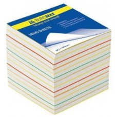 Бумага для заметок блок 90x90x90мм Радуга (BM.2249)