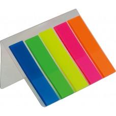 Закладки пластиковые с клейким слоем (BM.2301-98)