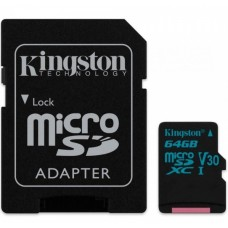 Карта памяти Class 10 UHS| U3 64GB microSDXC + SD adapter