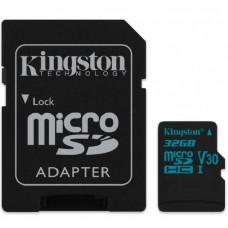 Карта памяти Class 10 UHS| U3 32GB microSDHC + SD adapter
