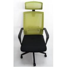 AMF Neon HR сидіння Саванна Black 19/спинка сітка салатова