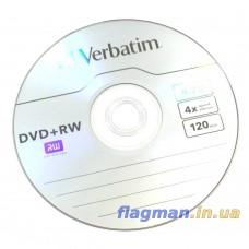 DVD-RW Диск 4.7GB Verbatim 1шт