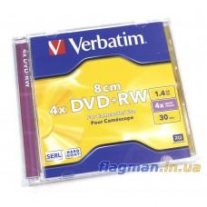 DVD+RW Диск 1.4GB Verbatim 1шт