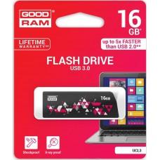 16GB USB3.0 Flash Накопичувач Goodram UCL3 Cl!ck Black (UCL3-0160K0R11)