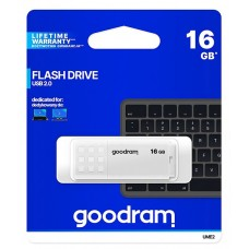 16GB USB2.0 Flash Накопичувач Goodram UME2 WHITE (UME2-0160W0R11)