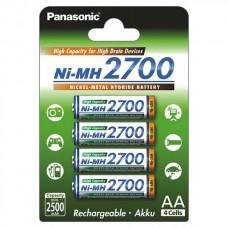 Аккумуляторная батарея AA 2700 mAh Panasonic Ni-MH