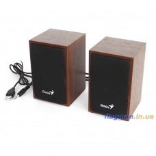 Акустическая система USB Genius SP-HF160 Wood (31731063101)