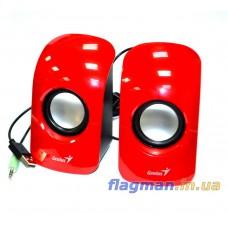 Акустическая система USB Genius SP-U115 Red (31731006101)
