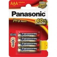 Батарейка AAA Panasonic Alkaline PRO POWER
