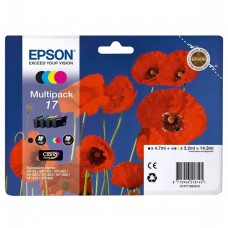 Картридж Epson 17 набор B/C/M/Y