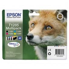 Картридж Epson T1285 набор B/C/M/Y