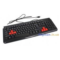 Клавиатура USB A4 Tech X7-G300 (X7-G300)