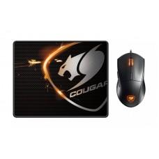 Мишка Cougar Minos XC Black з килимком Speed XC