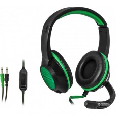 Гарнитура Defender Warhead G-200 2m black+green (64119)