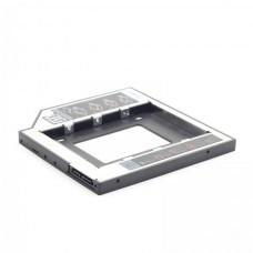 """Фрейм-перехідник для 2.5"""" 9,5мм у відсік CD/DVD"""
