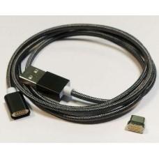Кабель USB2.0 - USB Type-C 1м магнітний