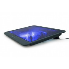 """Подставка для ноутбука  15"""" 1x125 mm fan black"""