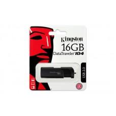 16GB USB2.0 Flash Накопитель Kingston  DT104/16GB