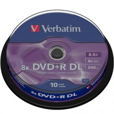 DVD+R DL Диск 8.5GB Verbatim 1шт