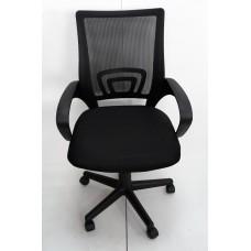 AMF Веб сидіння Сітка чорна спинка Сітка чорна