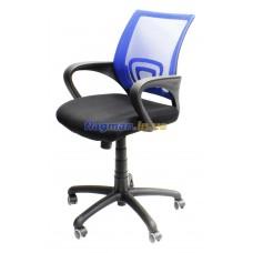 AMF Веб сидіння Сітка чорна спинка Сітка синя