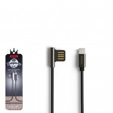 Кабель USB2.0 - USB Type-C 1м Remax Emperior Black (RC-054a)